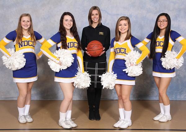 2016-2017 Varsity Basketball Cheerleaders