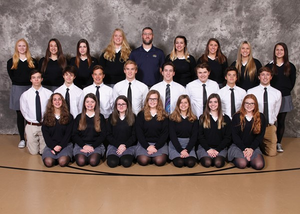 2017-2018 Swimming and Diving Team
