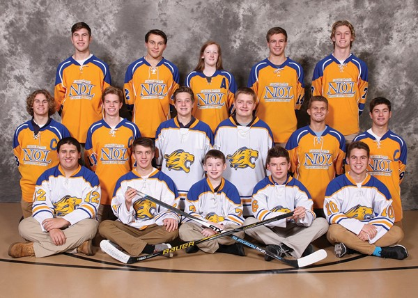 2017-2018 Hockey Team