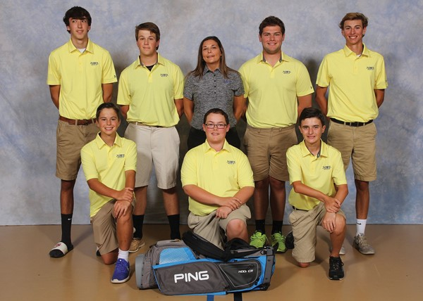 2017 Boys' Junior Varsity Golf Team Picture