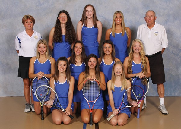 "2017 Girls' ""A"" Varsity Tennis Team Picture"