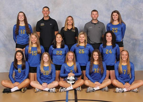 2017 Junior Varsity Volleyball Team Picture