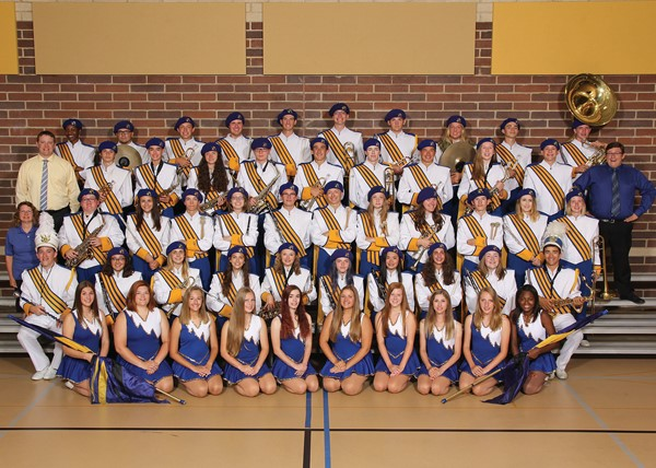2017 Notre Dame - Cathedral Latin Marching Band & Flag Corp
