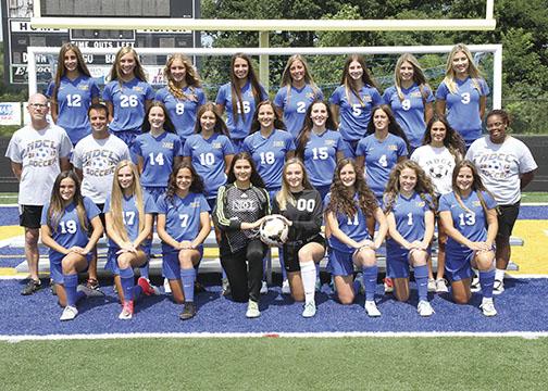Girls Varsity Soccer Team