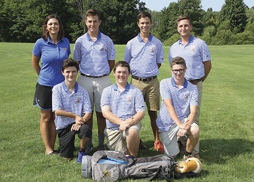Boys JV Golf Team